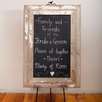 Chalk Board 2 - $15